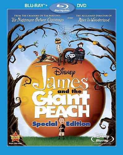JAMES AND THE GIANT PEACH SE BY CALLOW,SIMON (Blu-Ray)